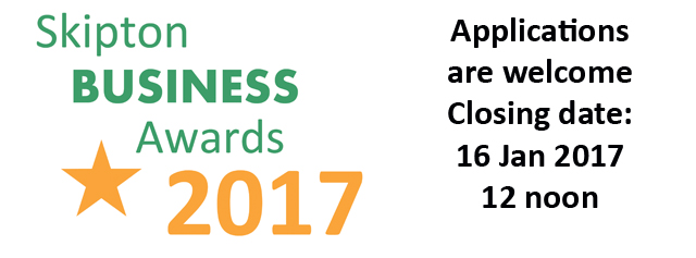 Skipton Business Awards 2017 - Have you entered?
