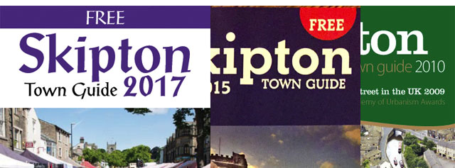 Advertise in Skipton Town Guide 2018