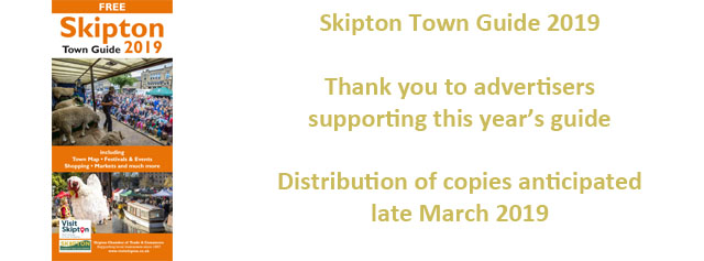 Skipton Town Guide 2019 in production